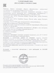 Витафон-ИК, Декларация Таможенного Союза